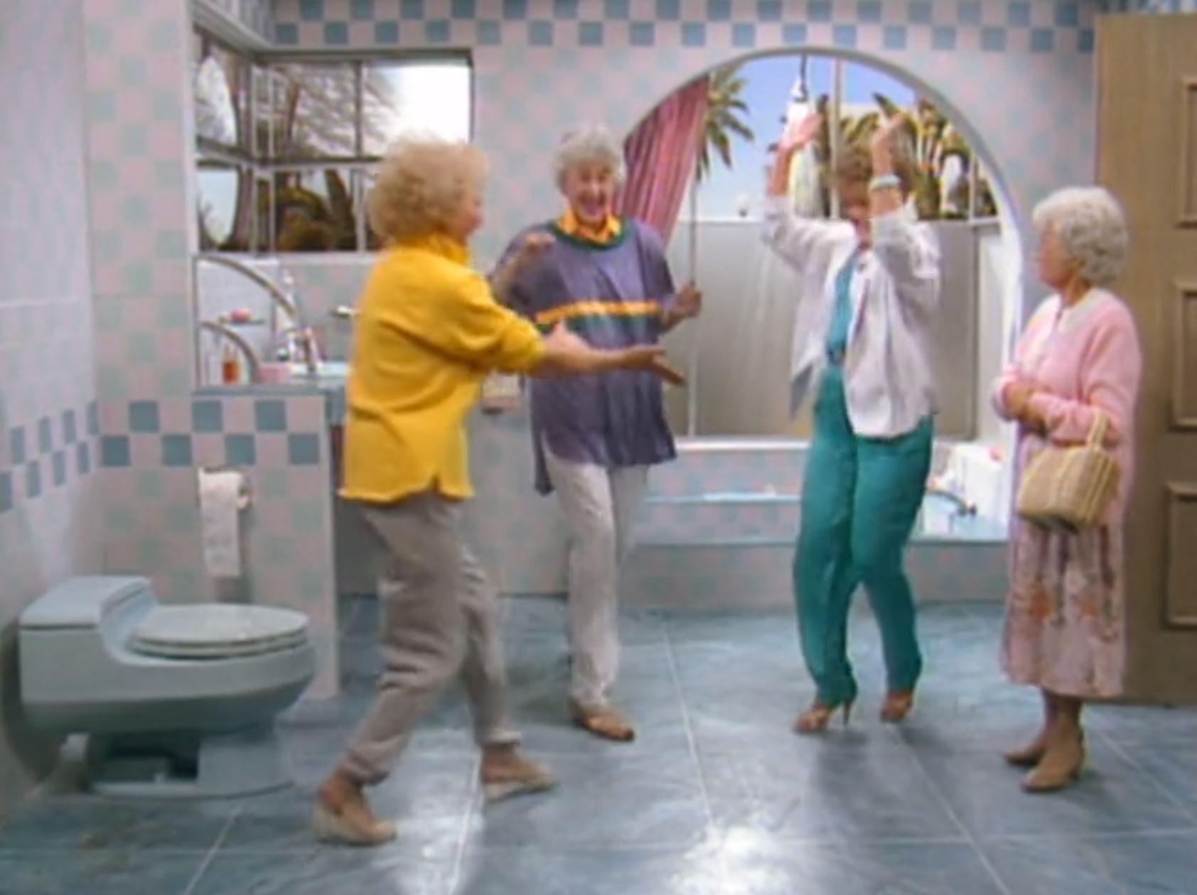 Golden Girls bathroom