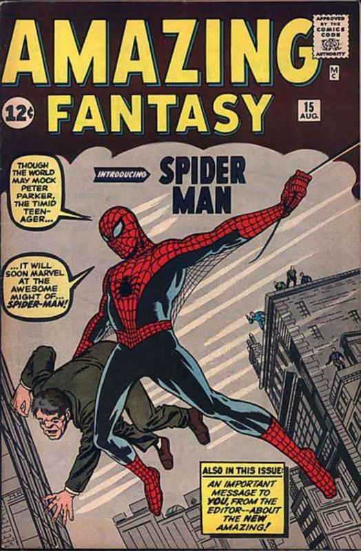 Amazing Fantasy No. 15