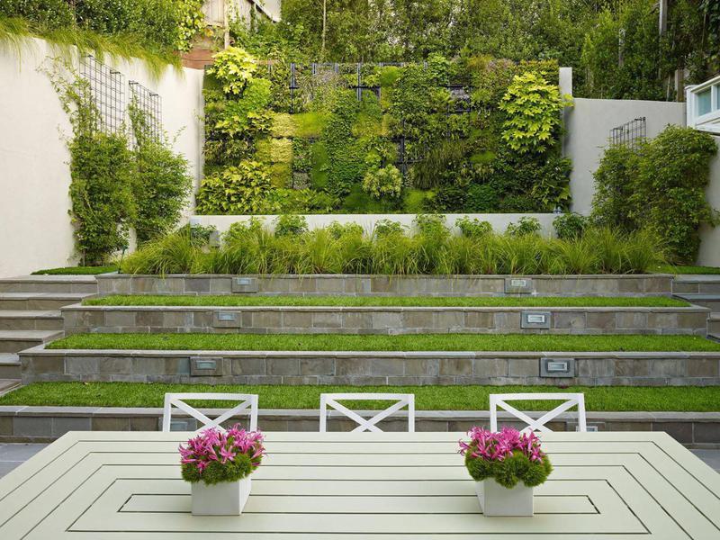 Living wall garden design