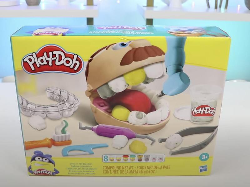 Play Doh Doctor Drill N' Fill