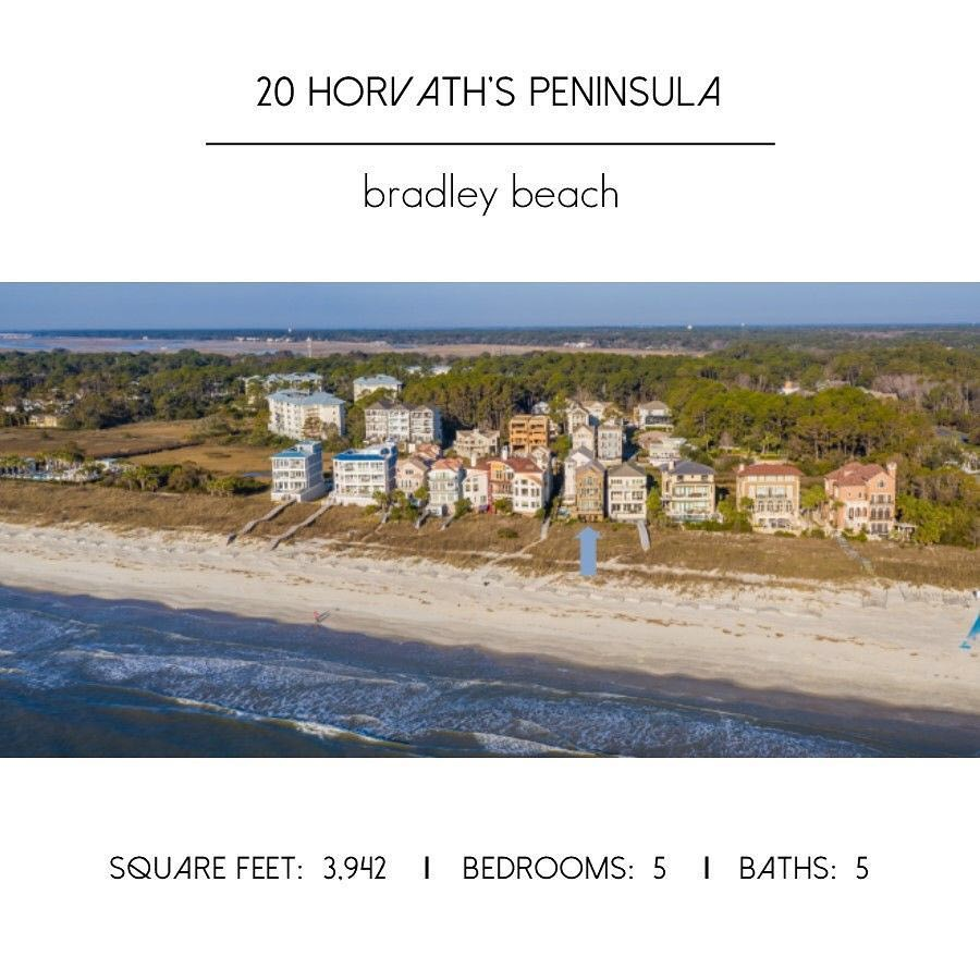 Beach houses in Hilton Head