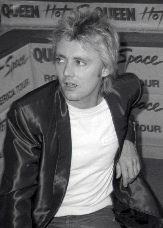 Roger Taylor in 1982