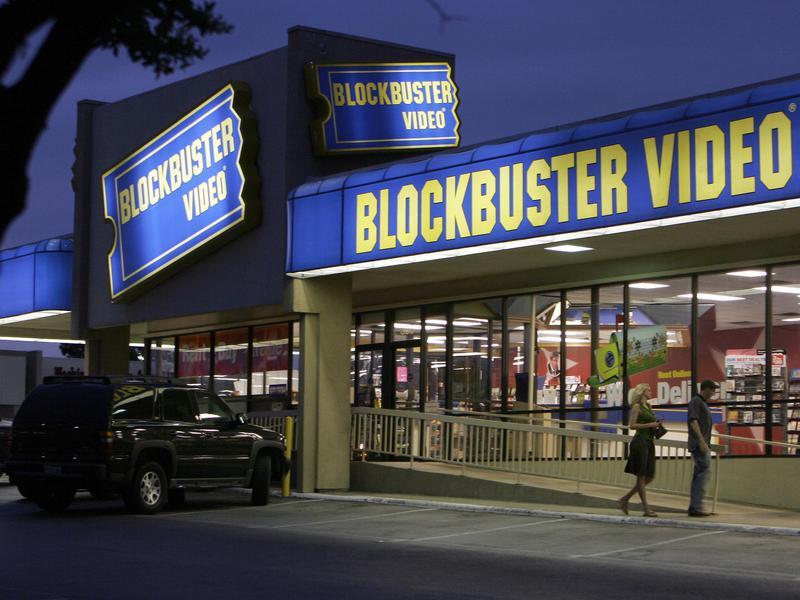 blockbuster video dallas 2006