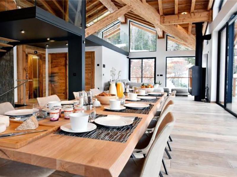 chamonix ski house