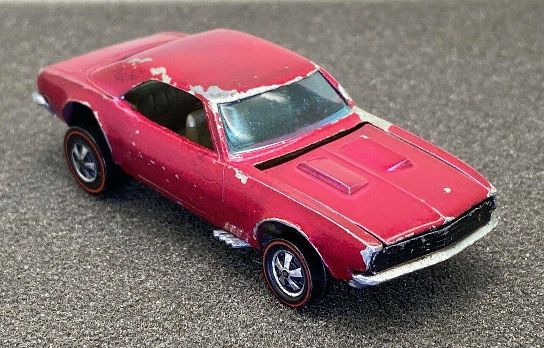 Creamy Pink 1968 Camaro Hot Wheels