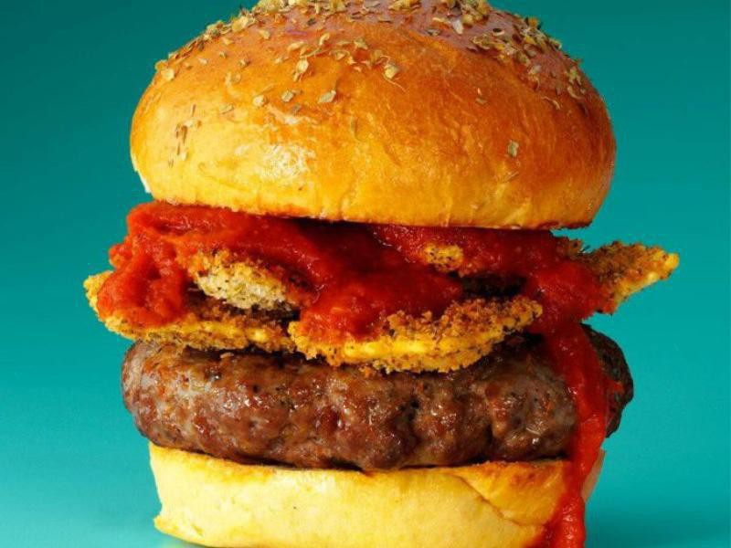 Burger Topping Ideas: Ravioli