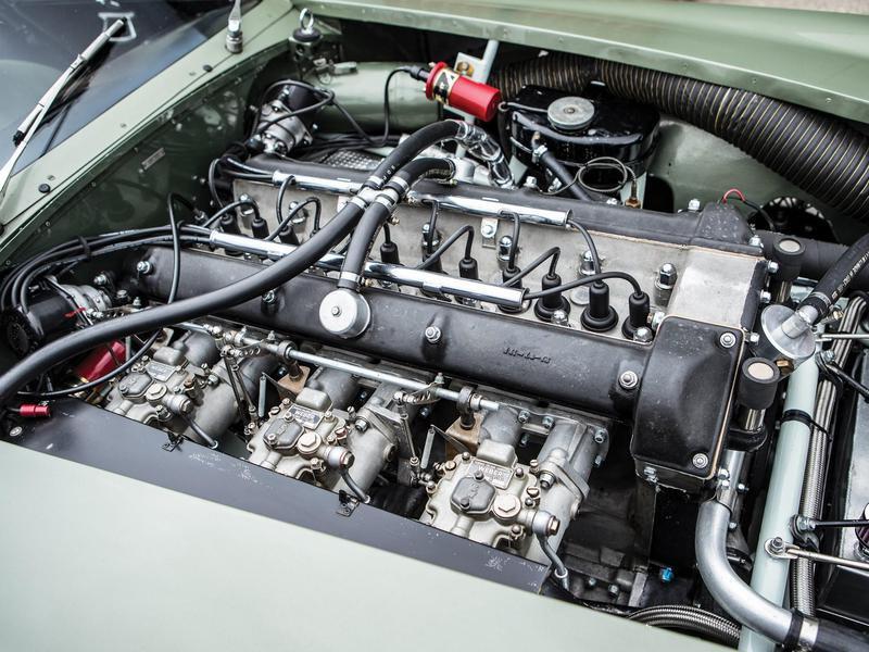 1963 Aston Martin DP215 engine