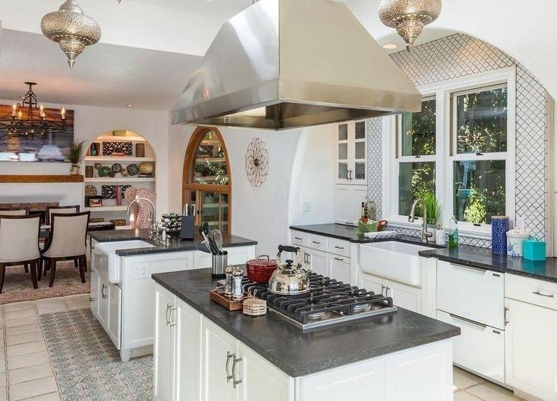 Pierce Bronsan's old kitchen