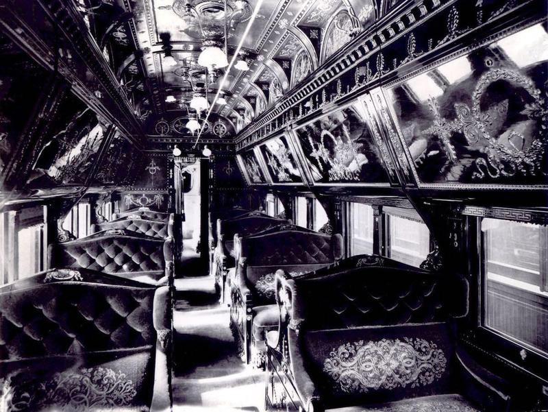 Pullman car in 1910