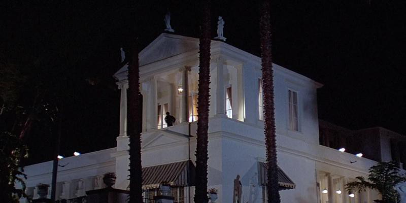 Exterior of Tony's office in Scarface