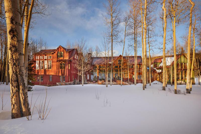 Jerry and Jessica Seinfeld's ski house