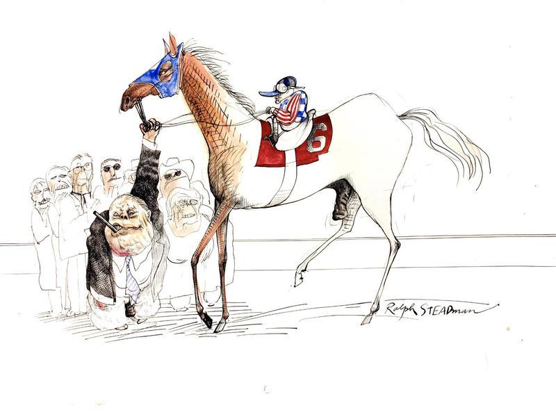 Ralph Steadman illustration
