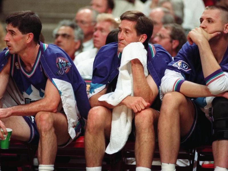 John Stockton, Jeff Hornacek, Greg Ostertag