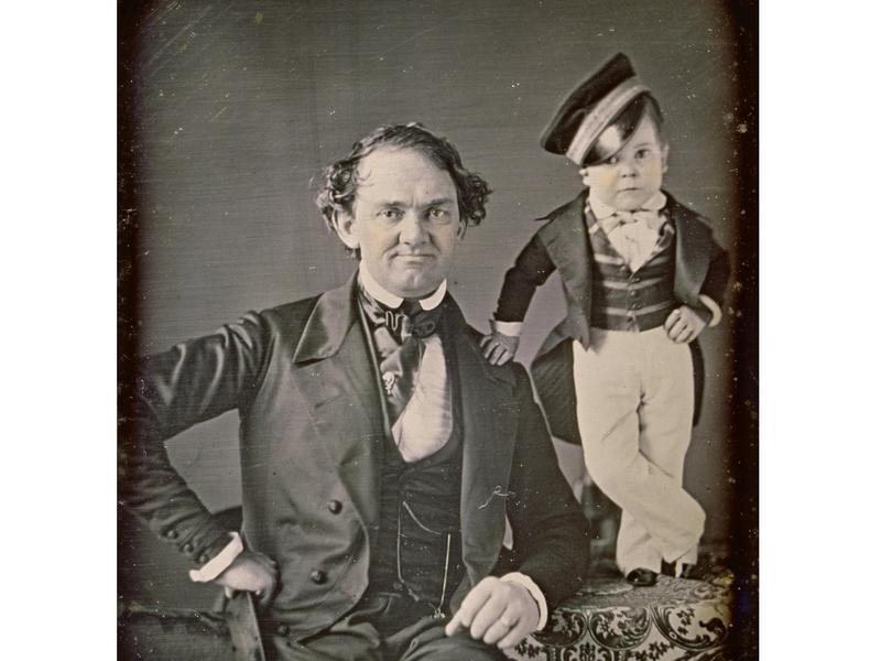 P.T. Barnum and General Tom Thumb