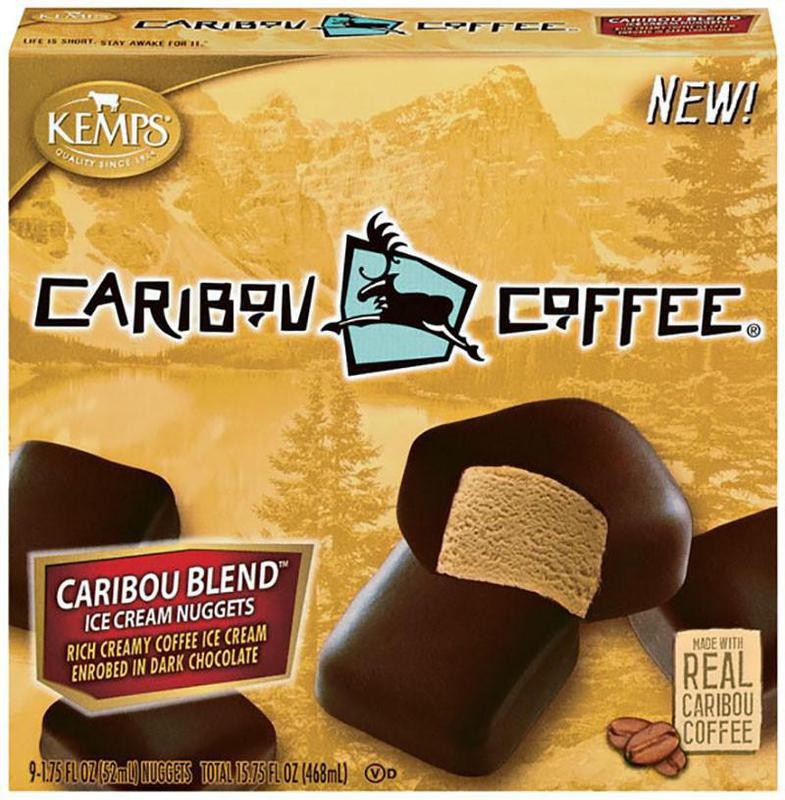 Caribou Blend Coffee Ice Cream Nuggets