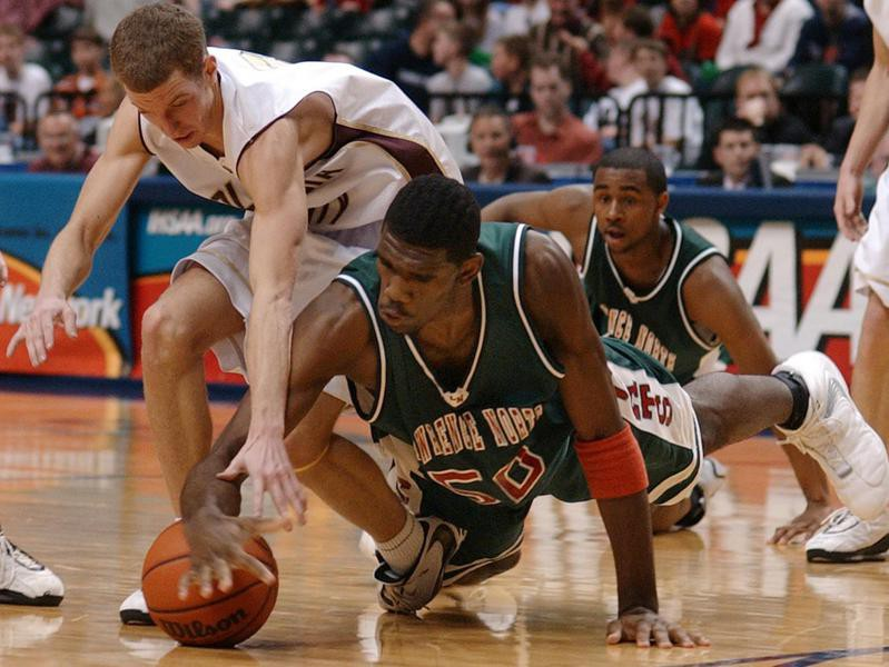 Lawrence North High center Greg Oden