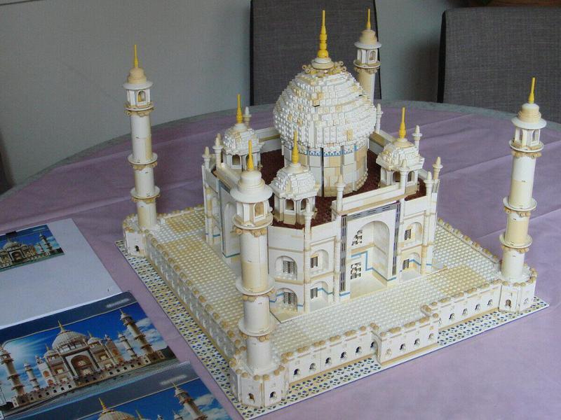 Lego Taj Mahal 10189