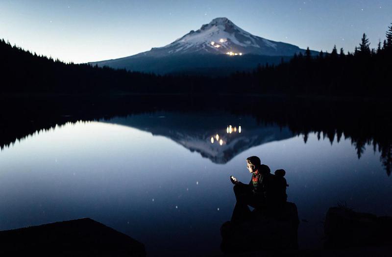 Hiker in Oregon