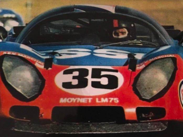 Michèle Mouton in car