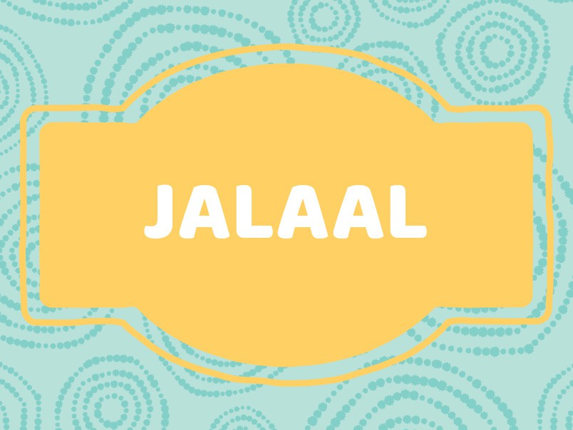 J Name Origins: Jalaal