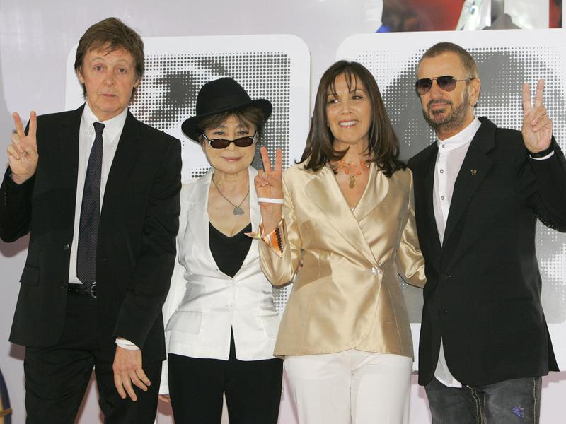 the beatles surviving members and significant others