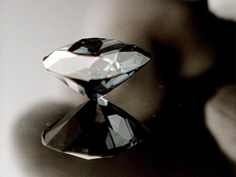 The Hope Diamond on Mirror