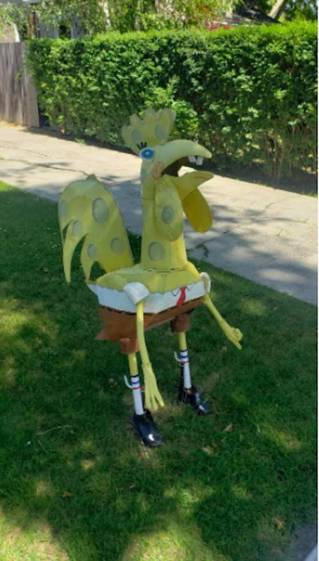 SpongeBob bird