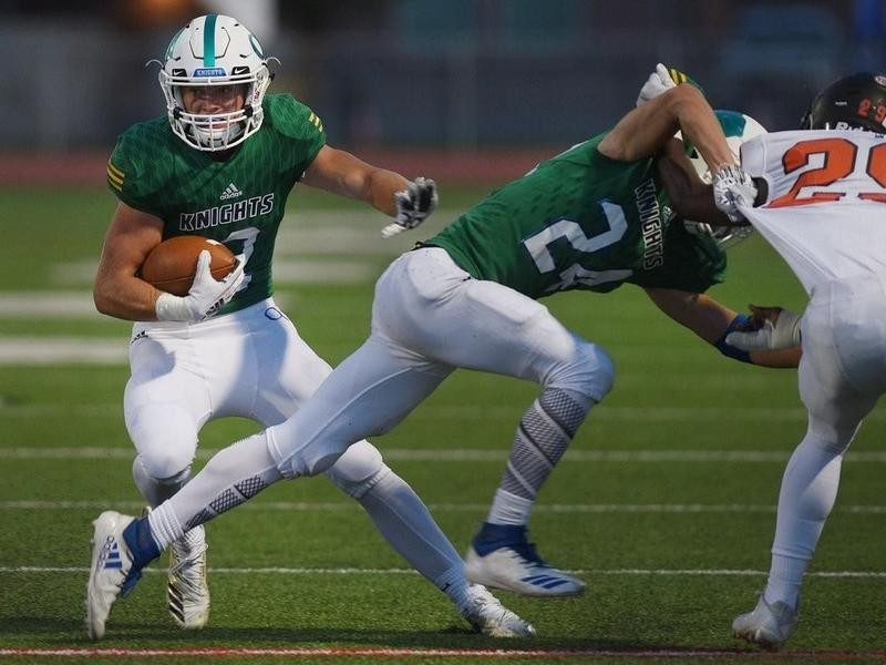O'Gorman High wide receiver Canyon Bauer