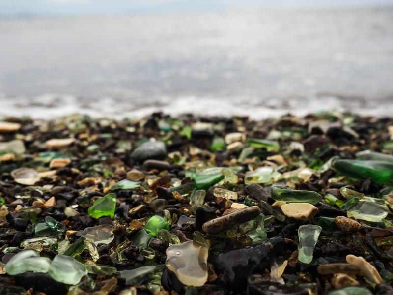 Vladivostok, Russian Sea Glass