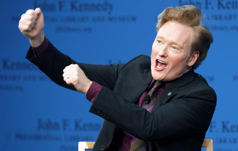 Conan O'Brien talks about comedy at John F. Kennedy Presidential Library