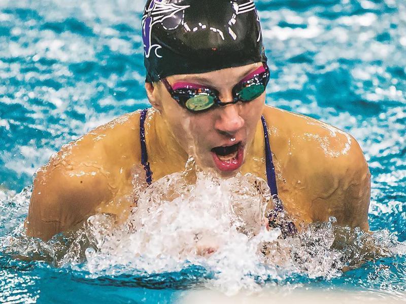 Waunakee swimmer