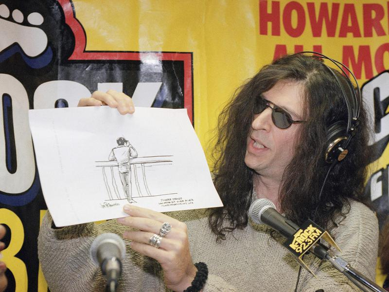 Stern with comic