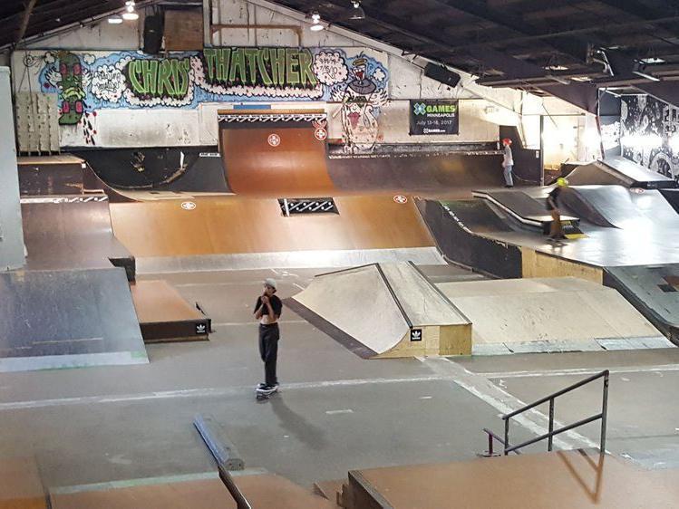 3rd Lair Skatepark and Skateshop in Golden Valley, Minnesota