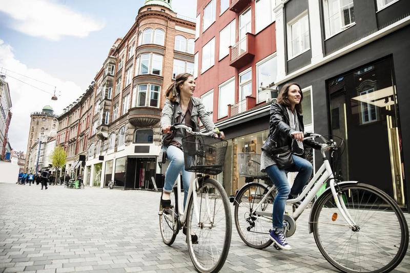 Bicycling in Copenhagen