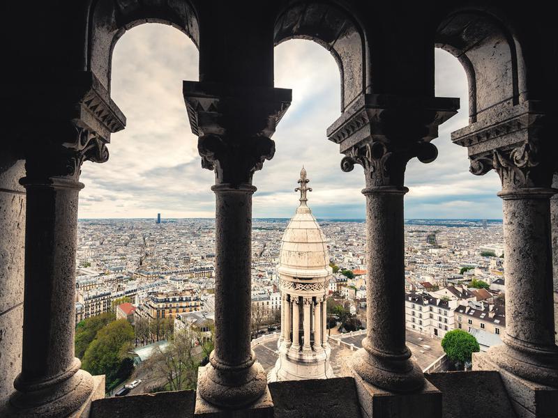 Montmartre the Sacre Coeur Basilica
