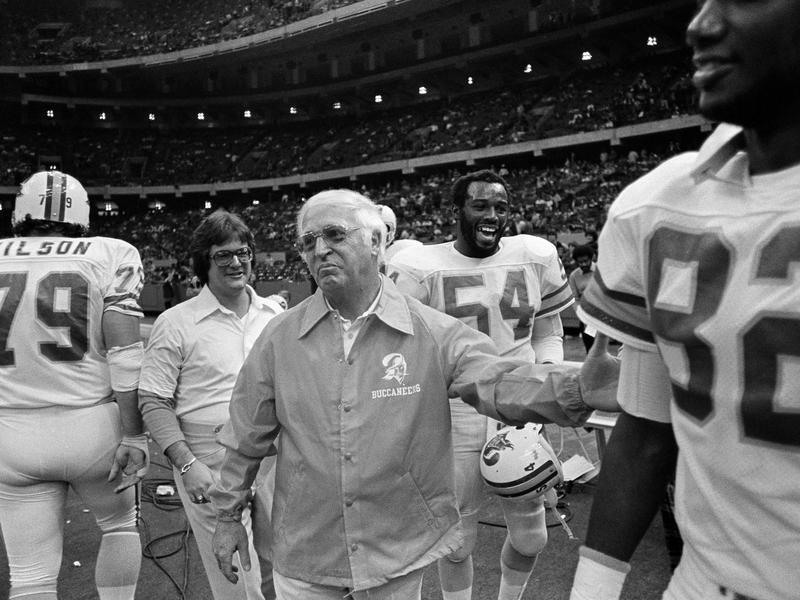 John McKay and 1977 Tampa Bay Buccaneers