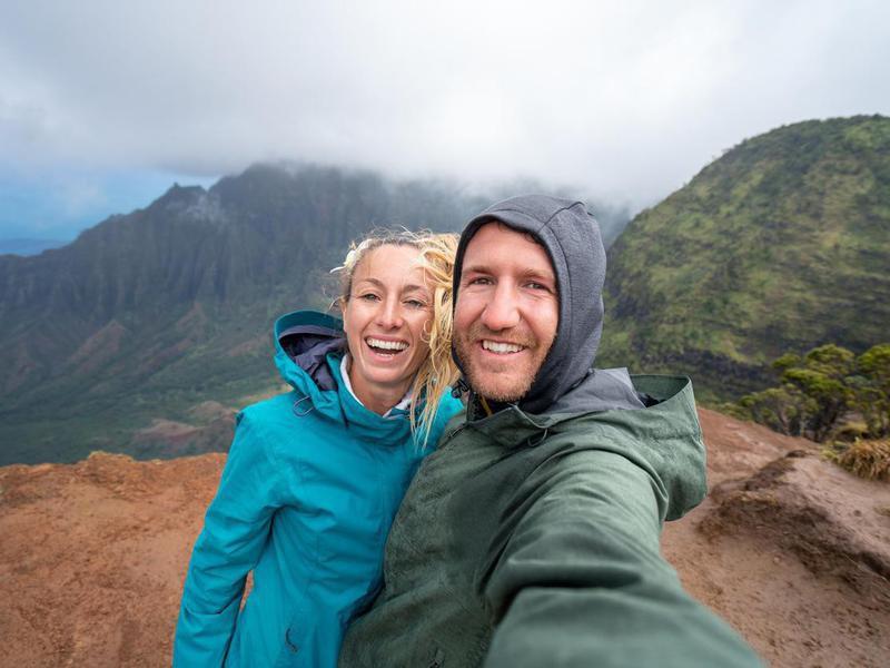 Rain jackets in Hawaii