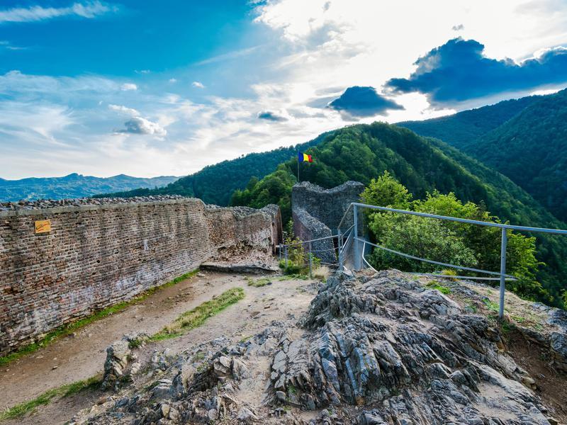 Poenari ruins, Romania
