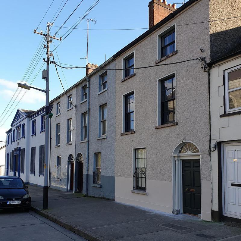 The Irish Georgian exterior