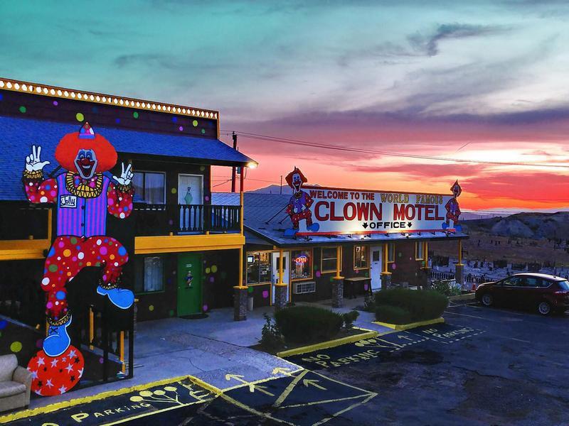 Clown Motel in Nevada