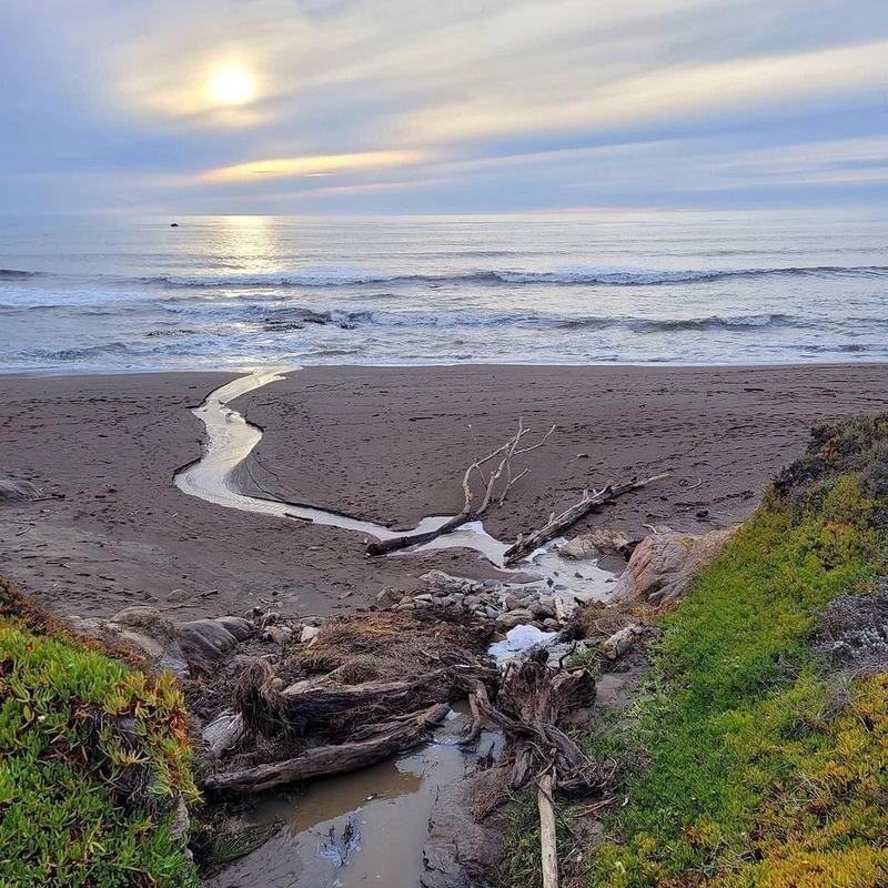 Moonstone Beach Cambria, California
