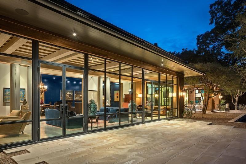 Modern mansion in Austin, Texas