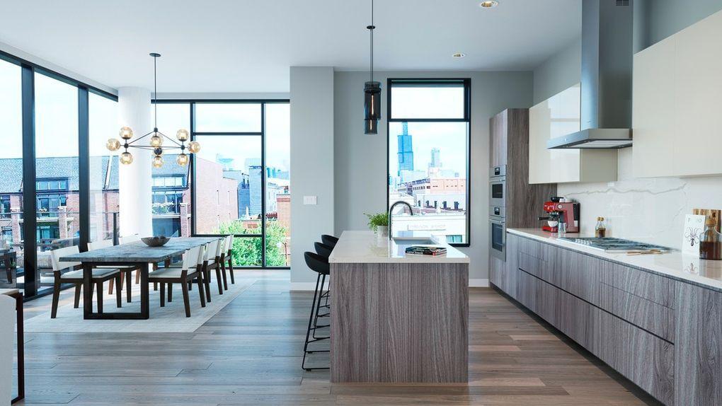 Luxury condo apartment in Chicago