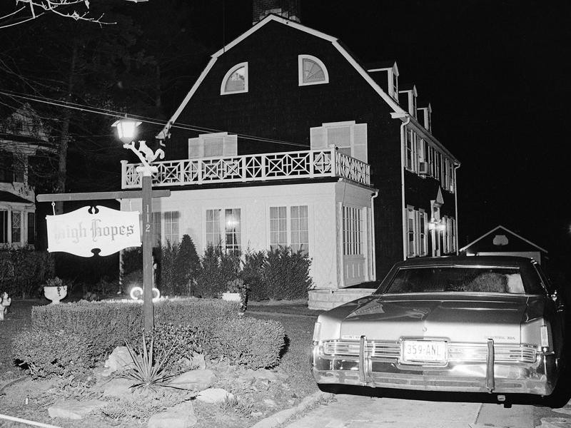 The Amityville House in 1974