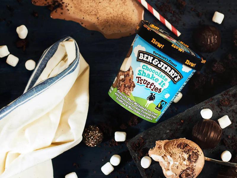 Chocolate Shake It Truffles