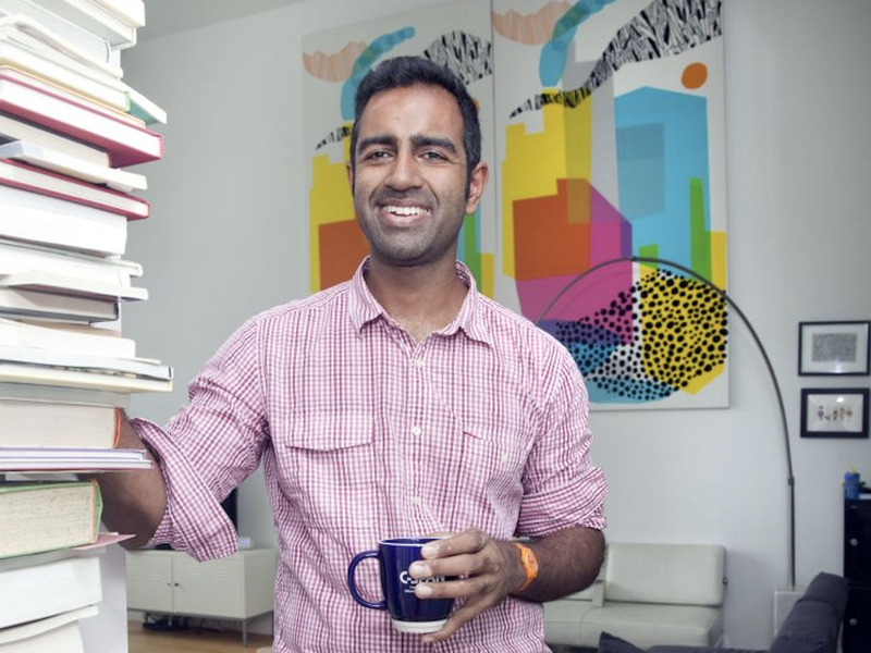 Knotel CEO Amol Sarva and his company offer entrepreneurs and startups access to workspace without leasing or buying it outright.