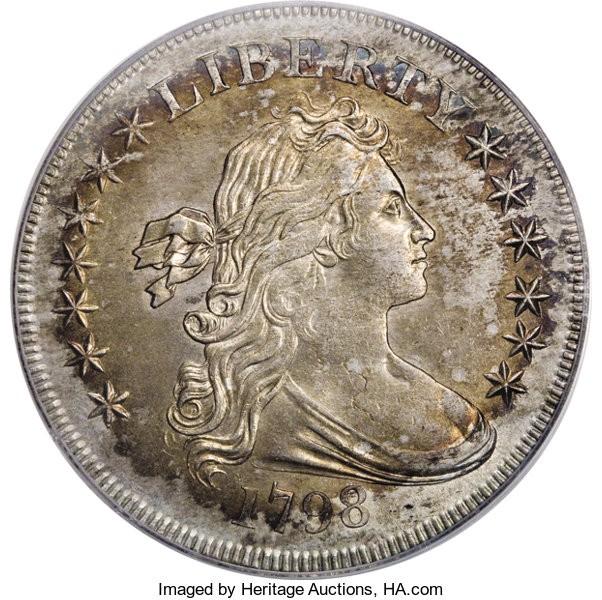 1798 Draped Bust 13 Stars