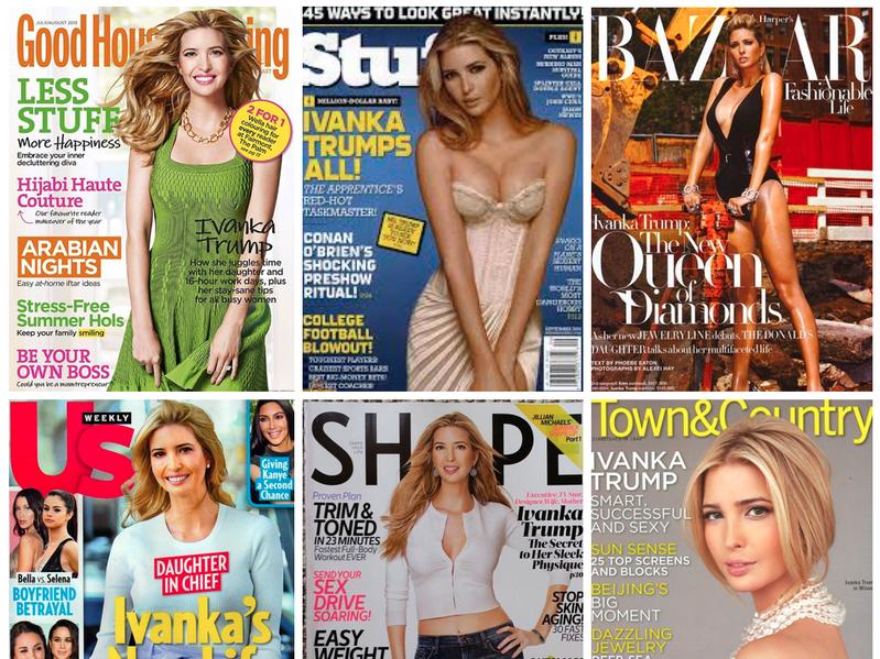Ivanka Trump magazine covers