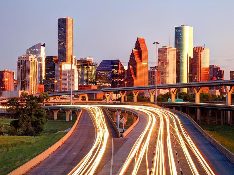 Downtown Houston, Texas Skyline