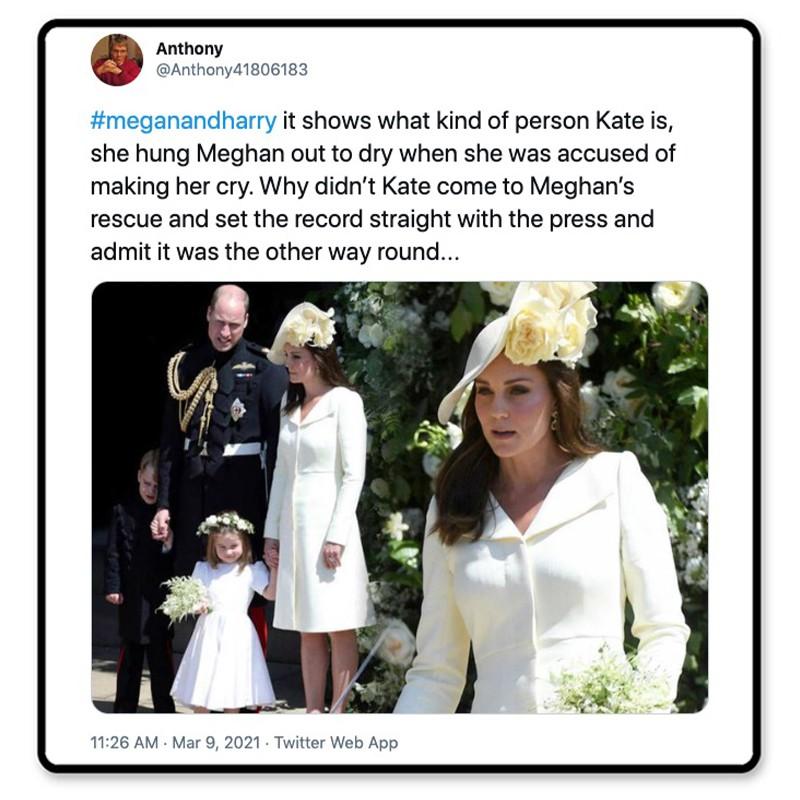 Kate's true colors